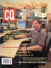 June, 2000 cover of CQ Magazine